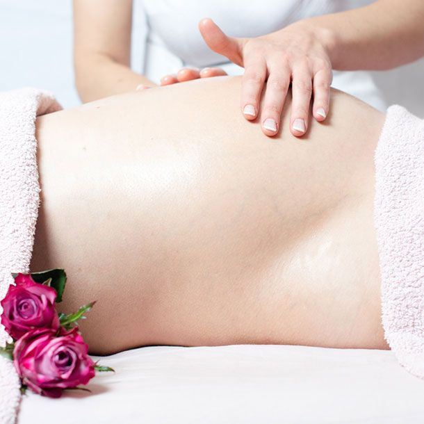 Traditional Thai massage for pregnant