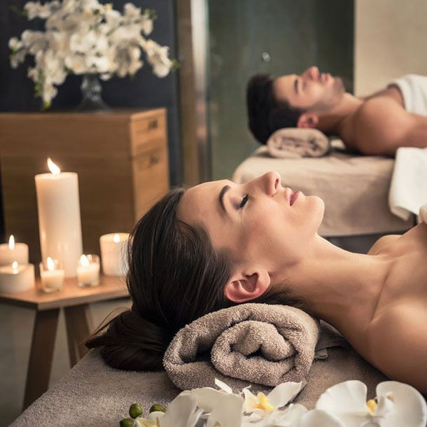 Spa relax for couple